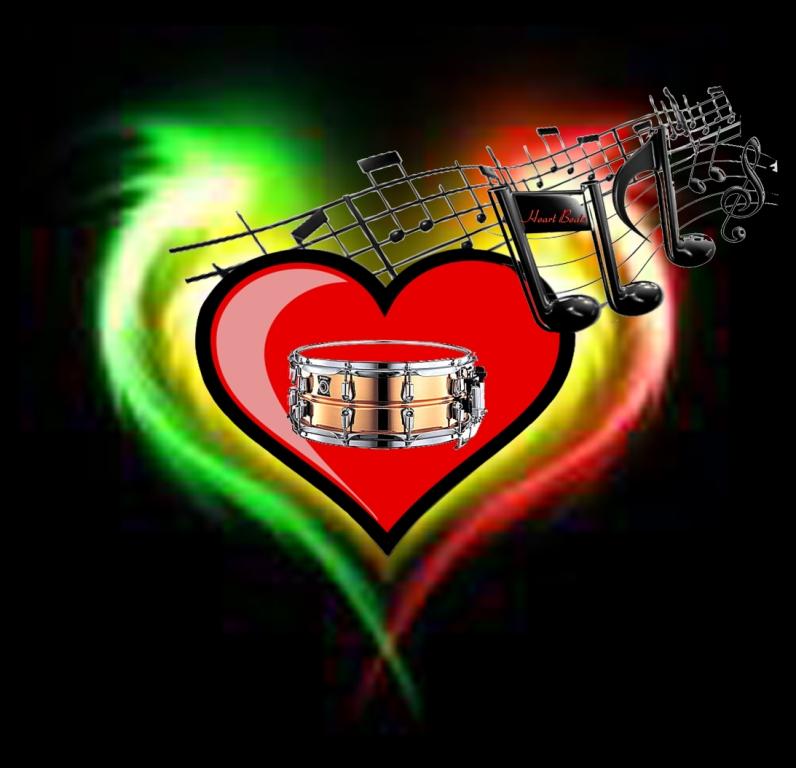 logo the heartbeats melody_s